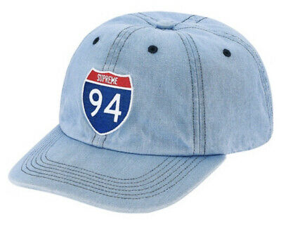 $ CDN120.65 • Buy Supreme Interstate 6-panel Lt Denim Os Hat, Fw20 Week 1 (in Hand) New Authentic