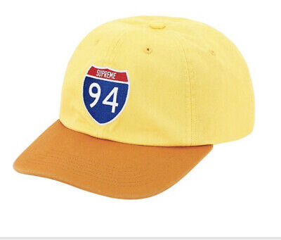 $ CDN120.65 • Buy Supreme Interstate 6-panel Yellow Os Hat, Fw20 Week 1 (in Hand) New Authentic