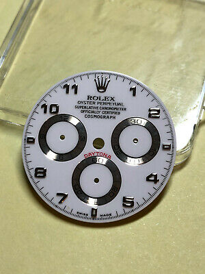 $ CDN925 • Buy Genuine Rolex 116519 White Daytona Watch Arabic Dial  Parts