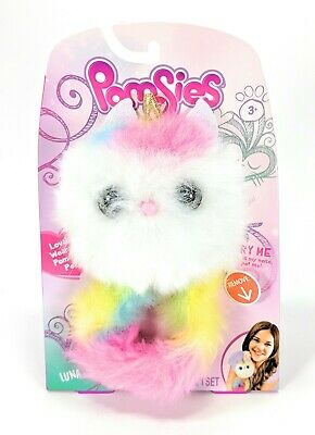 $ CDN14.55 • Buy Skyrocket Pomsies Luna Wearable Pom-Pom Pet Unicorn With Color-changing Eyes