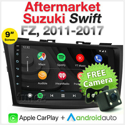 AU652.85 • Buy Apple CarPlay Android Auto For Suzuki Swift 2012-2017 FZ Head Unit Radio Stereo
