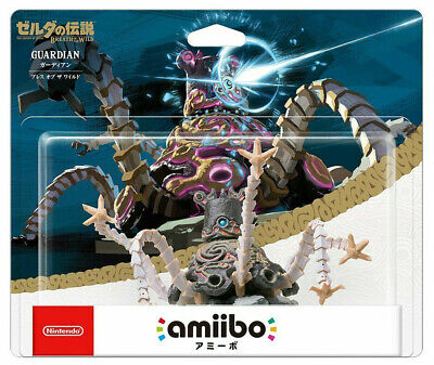 AU164 • Buy Guardian Amiibo Legend Of Zelda Breath Of The Wild Figure Nintendo Switch Wii U