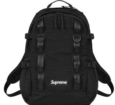 $ CDN366.24 • Buy Supreme Backpack Black Os Fw20 (in Hand) Brand New, 100% Authentic. Fast Ship