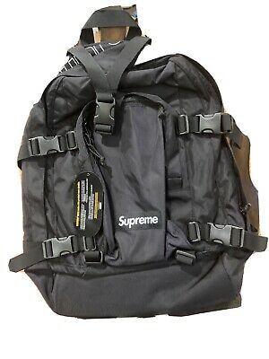 $ CDN241.27 • Buy Supreme Backpack Black Os Fw19 100% Authentic In Hand Brand New 📈🔥