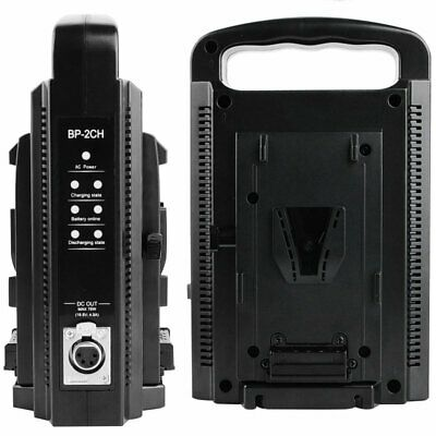 AU159.99 • Buy V-Lock V-mount Charger Dual Slot Dual Channel Quick Charging For V-lock Battery