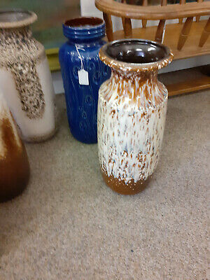 West German Floor Vase Stamped Scheurick Keramik 239-41.  • 35£