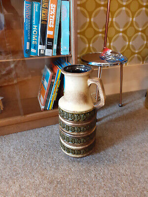 Vintage West German Large Floor Vase Scheurich-Keramik 429-45 • 40£