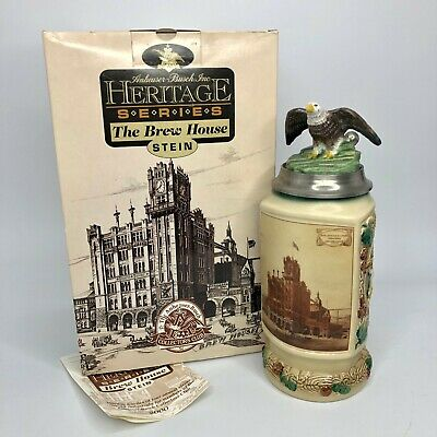 $ CDN53.32 • Buy Anheuser-Busch's Lidded Stein Heritage Series The Brew House CB16 - 1999