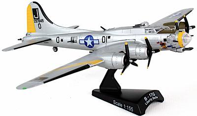B-17G Flying Fortress  Liberty Belle  1/155 Scale, Postage Stamp Planes PS5402-2 • 20.69£