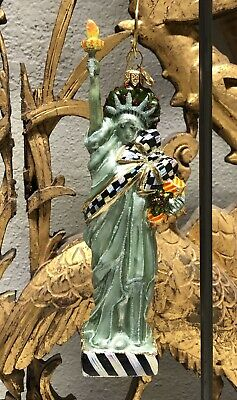 $98.99 • Buy MACKENZIE-CHILDS Statue Of Liberty Ornament - Store Displayed - Our Lady Liberty