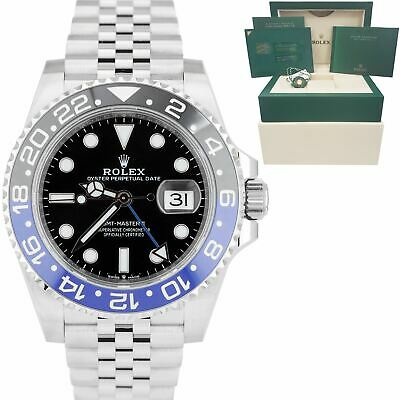 $ CDN21376.93 • Buy BRAND NEW 2020 Rolex GMT-Master II Batman Black Blue SS Ceramic 40mm 126710 BLNR