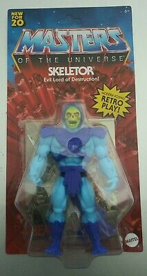 "$35.98 • Buy Mattel Skeletor Masters Of The Universe Origins Retro 5.5"" IN HAND And SEALED"