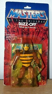 $150 • Buy Master Of The Universe Buzz-Off Figure MOTU MOC Intact Seal 1983 #4923 12 Back