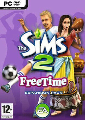 The Sims 2 Free Time Expansion Pack (PC) ~SUPER FAST DISPATCH~ • 7.99£