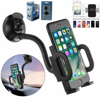 Universal Car Mobile Phone Holder Mount Windscreen Air Vent Stand Cradle GPS PDA • 5.68£