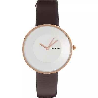 Lambretta Cielo Watch (Brown Leather/Rose Gold Finish) • 15£