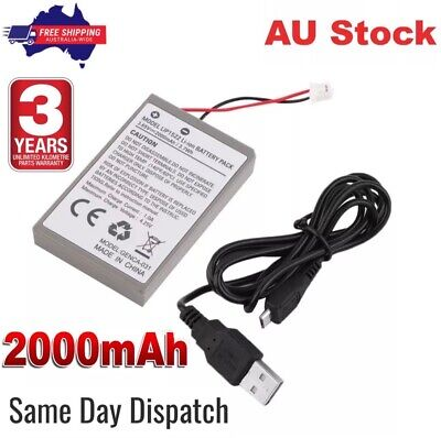 AU14.98 • Buy PS4 Battery + Cable For Sony Playstation 4 Controller 2000mAh Rechargeable Liion