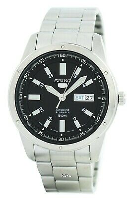 $ CDN138.73 • Buy Seiko 5 Automatic 21 Jewels Japan Made SNKN13 SNKN13J1 SNKN13J Men's Watch