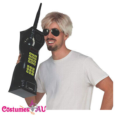 AU14.24 • Buy 28  Inflatable Mobile Phone 80s Retro 1980s Party Blow Up Costume Accessory
