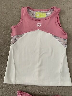 Wimbledon Tennis Girls Top & Skirt  • 10£