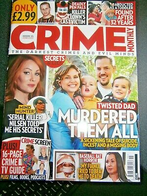 Crime Monthly Magazine Issue 15  (new) 2020 • 3.90£