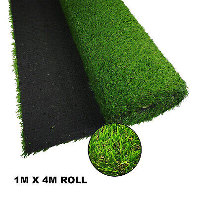 £55 • Buy 2 X Artificial Grass Realistic Look Roll Mat (1m X 4m) - Up To 28mm Pile Height