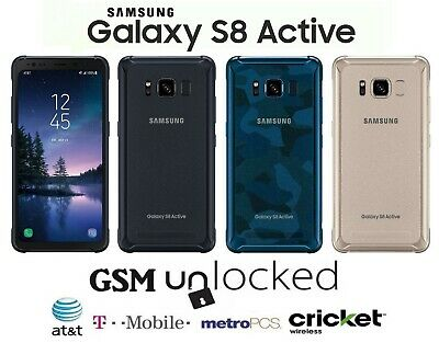 $ CDN201.05 • Buy Samsung Galaxy S8 Active - 64GB (GSM Unlocked) T-Mobile AT&T MetroPCS Cricket