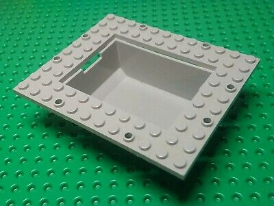 £9.90 • Buy Lego Container, Boat Cargo Loading Bay 10x12 With 6x8 Tub [2374] Orig Grey X1