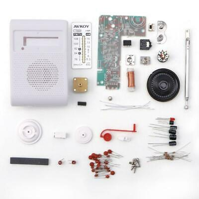 CF210SP AM/FM Stereo Radio Kit DIY Electronic Assemble Set Kit For Learner • 3.99£