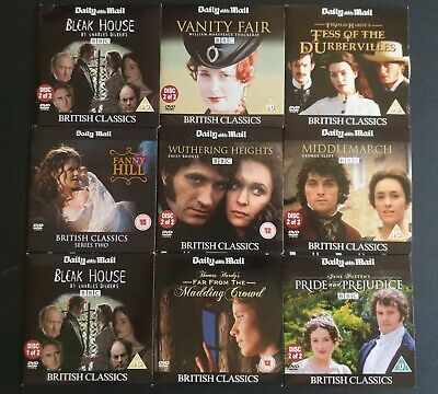 British Classics - Daily Mail - DVD Collection • 4.99£