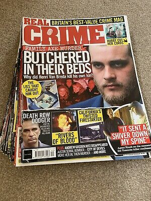 Real Crime Magazine X 10 ,Issues 31-40 • 20£