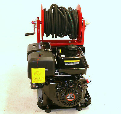 Loncin Petrol Pressure Power  Washer 3000 Psi 21 Litre With Hose Reel • 1,489£