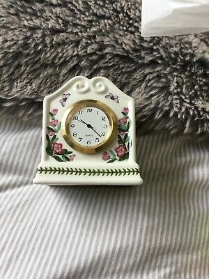 Portmerion Botanic Garden Quartz Mantle Clock  • 20£