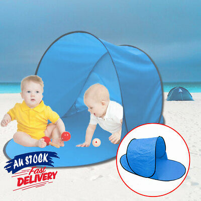 AU23.90 • Buy Pop Up Beach Tent Shade Pool Infant Protection  Sun Shelter Baby Waterproof