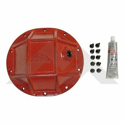 $113.46 • Buy Crown Red 8.25 HD Differential Cover Rear For 91-01 Cherokee XJ / 02-12 Liberty