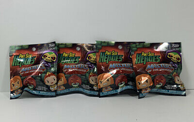 $14.95 • Buy Funko Pint Size Heroes Masters Of The Universe Blind Bags. Sealed Lot Of 4