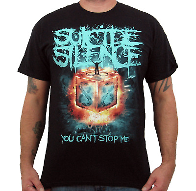 £16.28 • Buy SUICIDE SILENCE (You Can't Stop Me) Men's T-Shirt