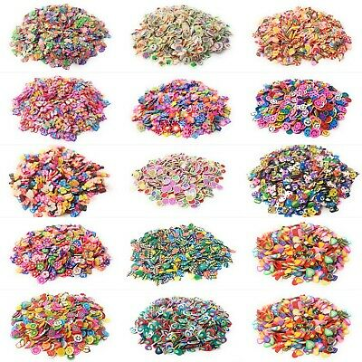 AU4.13 • Buy Slime Charms Accessories Packs Supplies Fimo Custom Nail Arts Crafts Homemade UK