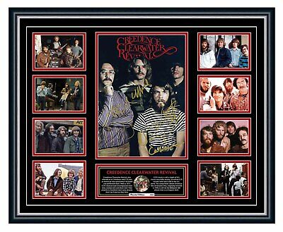 AU99.99 • Buy Creedence Clearwater Revival Signed Limited Edition Framed Memorabilia