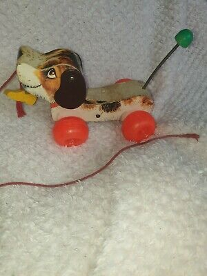 Fisher-Price Classics Little Snoopy Toy Pull Along Dog Vintage • 19.99£