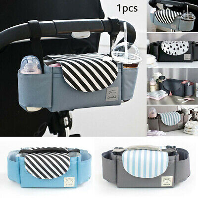 AU16.98 • Buy Accessories Diaper Bag Baby Travel Hanging Organizer Mummy Cup Holder