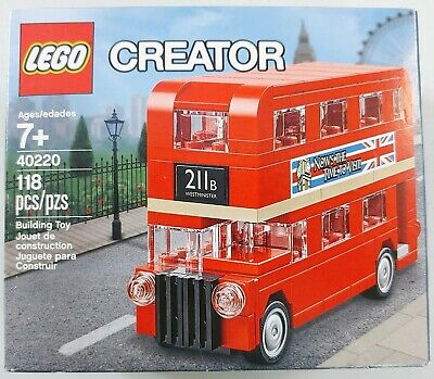 $ CDN19.01 • Buy LEGO Creator - Double Decker London Bus (40220) - 118pc. Building Set