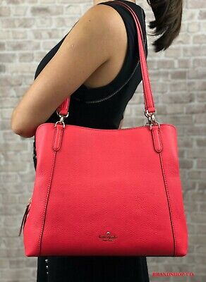 $ CDN168.45 • Buy Kate Spade New York Jackson Leather Triple Compartment Shoulder Bag Tote $399