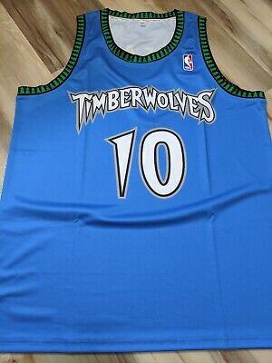 AU99 • Buy Shane Heal 1997 Minnesota Timberwolves NBA Replica Jersey XL