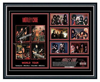 AU99.99 • Buy Motley Crue Dr. Feelgood Tommy Lee Signed Limited Edition Framed Memorabilia