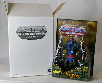 $70 • Buy MOTUC Masters Of The Universe Classics Stratos Action Figure MOC W Mailer Box