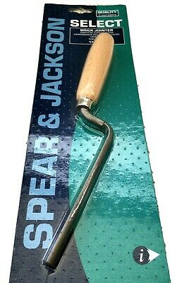 £10.99 • Buy SPEAR & JACKSON WHS Forged Rounded End Tuck Pointer Brick Finger Trowel 10607W