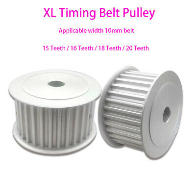 AU6.79 • Buy XL Timing Belt Pulley 15 16 18 20 Teeth AF-type For 10mm Belt CNC Step Motor