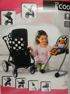 Spare Parts For I'coo Icoo Stroller Canopy Wheels Basket Bag Cover Chair Frame • 15£