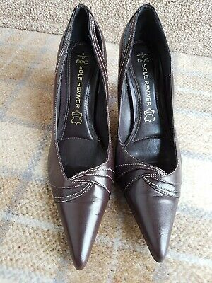 £20 • Buy Next Brown Leather Sole Reviver Shoes Size 4 Eu 37 Brand New
